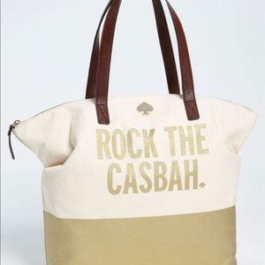 "Kate Spade ""Rock The Casbah"" Zipper Tote"